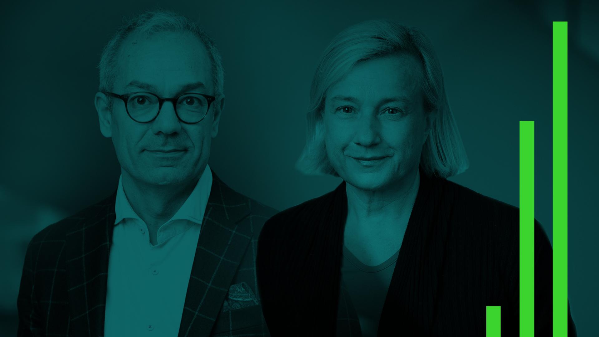 Arturo Arques och Cecilia Hermansson